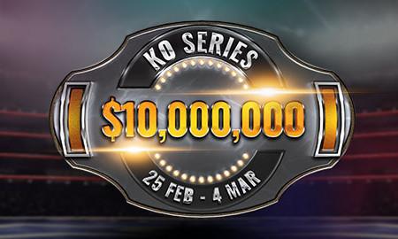 10 millions de dollars garantis avec les KO Series de bwin Poker