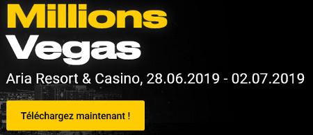 Rendez-vous à Las Vegas pour le festival Millions