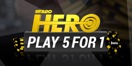 Gagnez des tickets SNG Hero sur bwin Poker