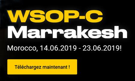 Bwin vous invite au WSOP-C Marrakech