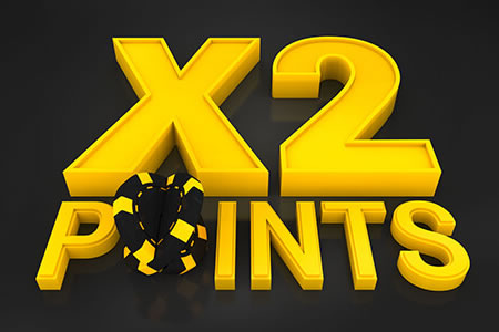 Doublez vos points sur les tables de Bwin Poker