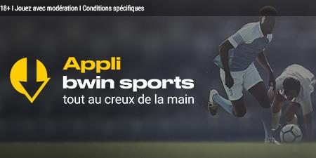 Appli bwin Sports : Profitez de la mobilité avec Bwin