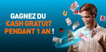 Gagnez du cash pendant un an gr�ce au casino777