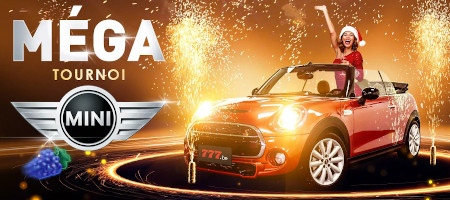 Gagnez une Mini Cooper Cabrio avec le Méga Tournoi du casino777