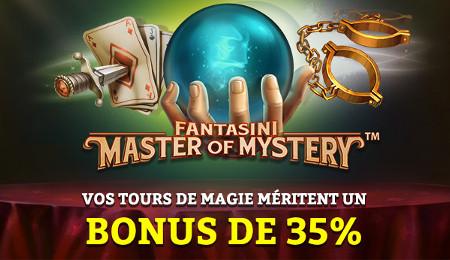 Gagnez 150 euros de bonus sur le casino777 grâce au Quizz spécial Magie